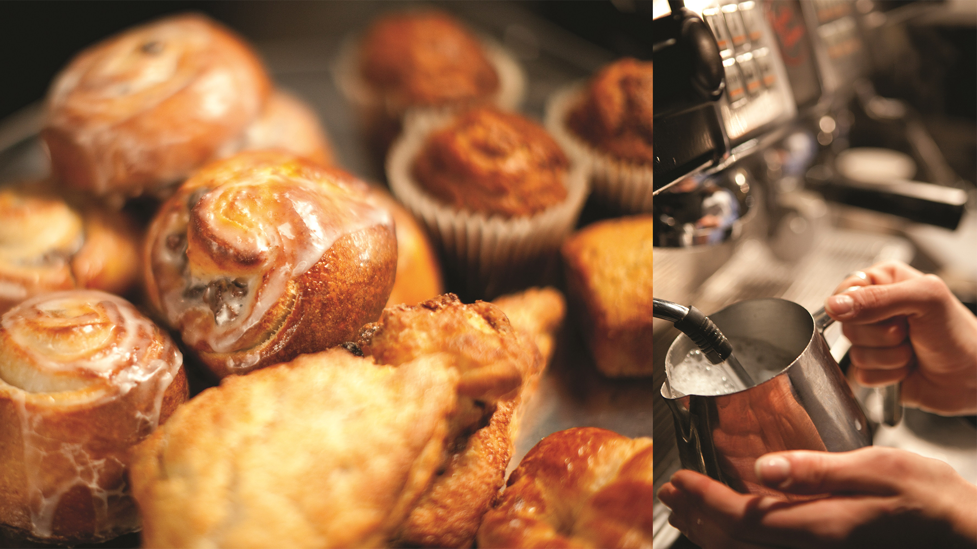 The Sebastian offers the best breakfast in Vail, including these delicious pastries and coffee.