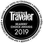 Conde Nast Readers' Choice Award - Top Hotel in Colorado