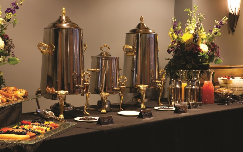 Catering services and a full banquet menu are offered at The Sebastian Vail.